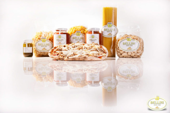 Product photography Bellini Phuket pasta and sauces.
