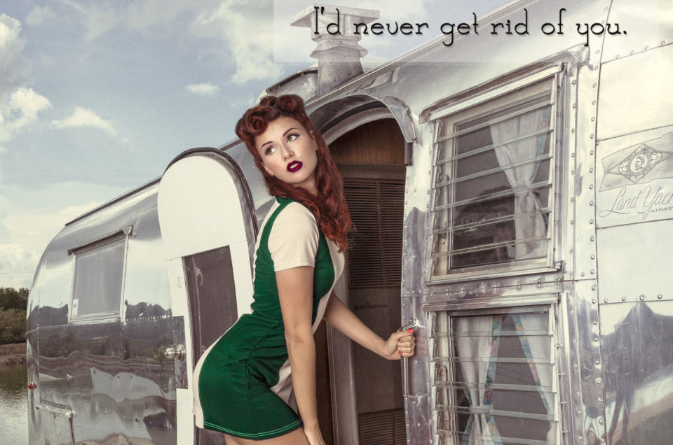 My Pin Up postcard project