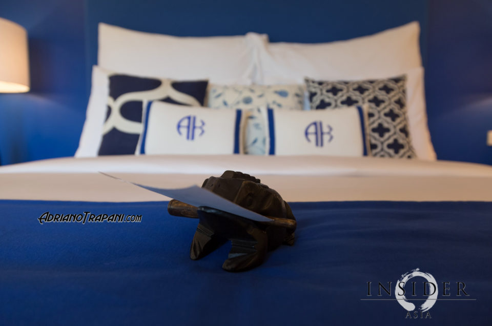 Resort photography Akyran beach club bed.