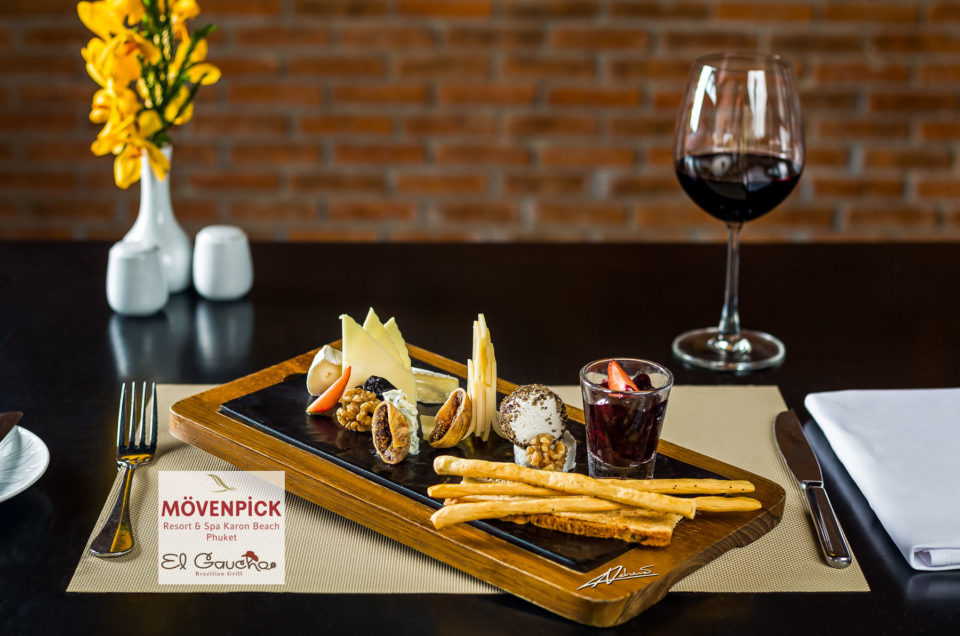 Food photography for Movenpick resort Phuket
