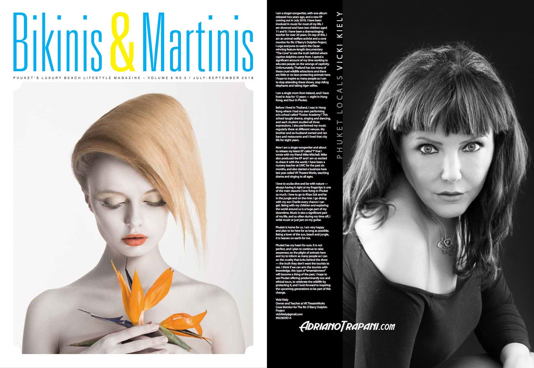 Bikinis & Martinis magazine - Vicki Kiely