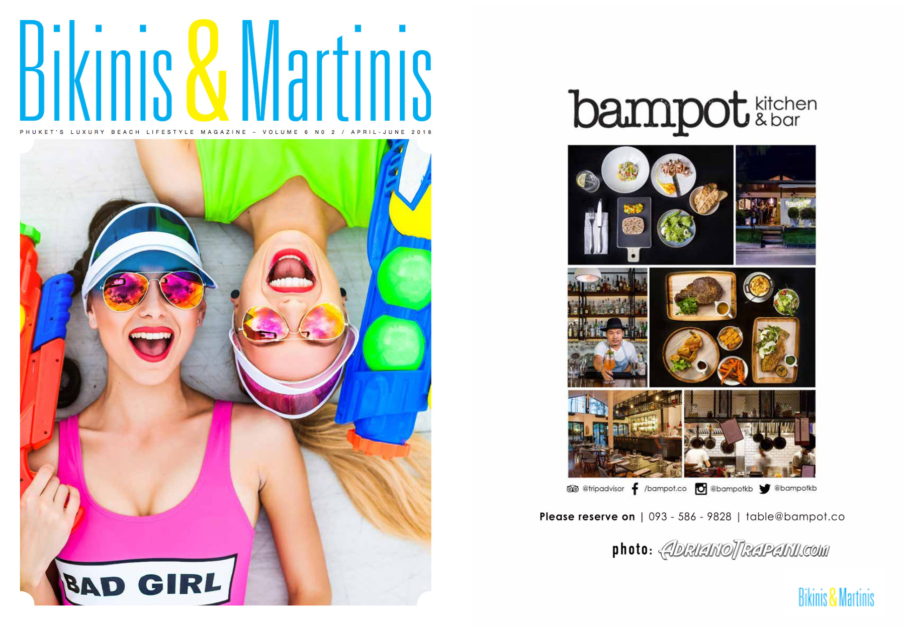 Bikinis & Martinis magazine - BAMPOT Kitchen & Bar Phuket