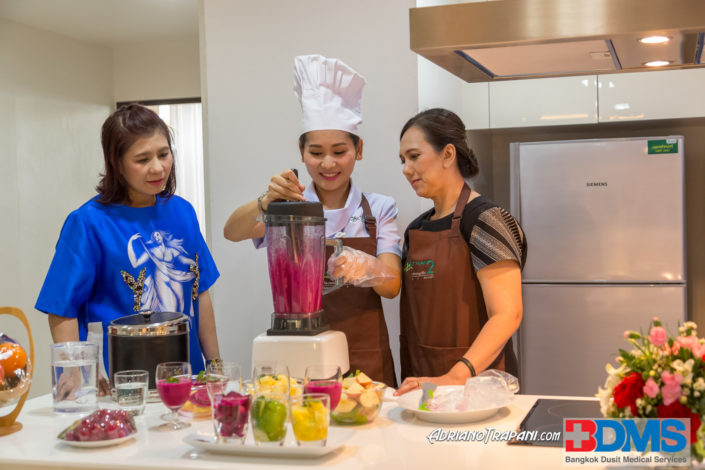 Real Estate Business Photography BDMS Phyathai Hospital lifestyle cooking class