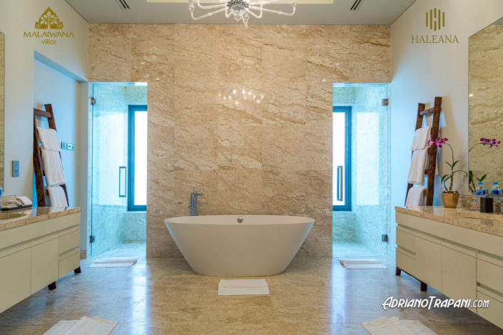Real Estate Business Photography Villa Haleana Master Bathroom